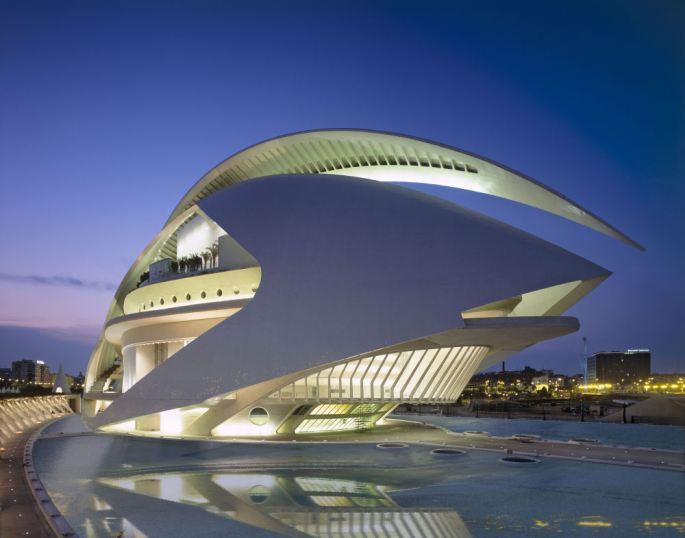 Architect: Santiago Calatrava, Valencia