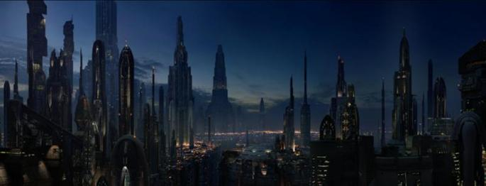 Coruscant Night