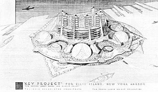 Frank Lloyd Wright Ellis Island