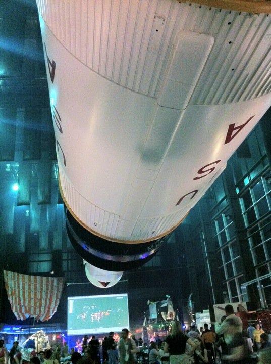 Under the Saturn V