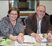 Debbie and me at Humans to Mars Conference